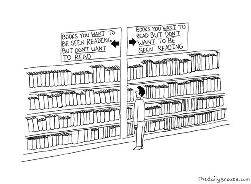 Books you want to be seen reading