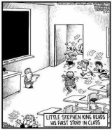 Sunday Morning Funnies: Little Stephen King